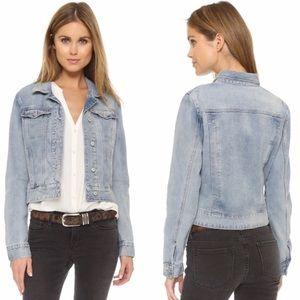 Free People jean jacket size S